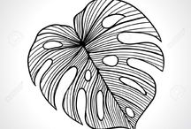 patterns & line art