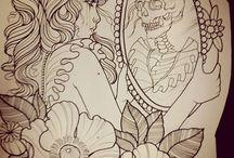 Tattoos  gemischt
