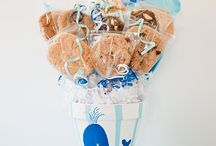 Beach Bouquets / Cookie Bouquets from Kookie Krums . . . all with a beachy flair!