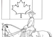 Coloring Canada