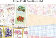 Springtime Papercrafts / With a new year before us, and spring on the horizon, now is the perfect time to add some light, fresh colours and floral designs to your cardmaking projects. Buy the products in this collection at https://goo.gl/JMj9Vx