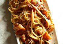 spaghetti a frutti di mare
