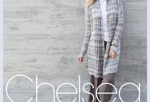 Chelsea Morning Spring Summer 2016 / Both NYC street style and the natural beauty of the High Line's plantings have informed the collection's 17 styles to knit or crochet in the textures and harmonized color palettes of Stacy Charles Fine Yarns.