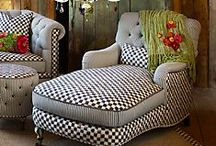 Den (remodel)~ furniture & decorations / by Linda McKinney