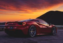 Ferrari at the dark