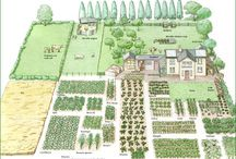 farmhause landscape design