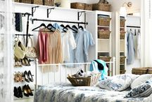 Storage Ideas for Bedroom without Closet