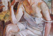 Mela Muter portrety