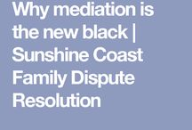 Mediation, Family Dispute Resolution