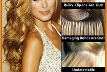 Hair Extension Alternative / Better than salon extensions, clip-in or halo extensions.