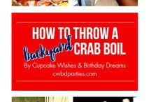 Backyard Crab Boil Ideas