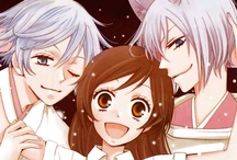 Kamisama Hajimemashita/Kiss / Well... here there are a lot of Tomoe × Nanami, but... I like Akura-Ou × Nanami too... aaaaand funny images, of course!