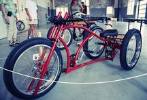 Push bikes vintage and custom