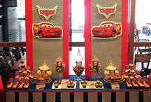 Disney Cars Party / Disney cars themed dessert table and birthday party decorations