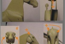 Pferd modellieren