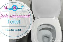 toilet schoonmaken