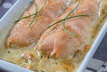 roule aux deux saumons