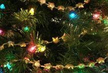 Julpyssel / Skapa julpynt med lyckönskningar