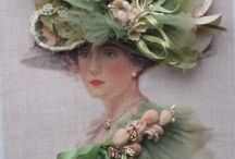 Crafty ideas:  ribbon embroidery