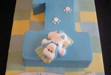 1st bday cakes