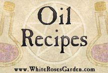 Oil Recipes / Fragrance oil recipes from WhiteRose's Mystic Oils collection and more.
