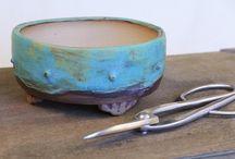 Drum Bonsai Pots
