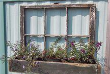 Fenster Garten
