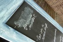 Crafty { Chalkboard } / by Valerie Fieber