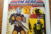 Toys - GI Joe Cardbacks and box art