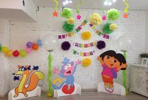 My work. Party for kids.