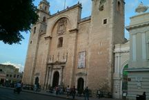 Old Mérida / Historic places, facts and buildings from Mérida, Yucatán.