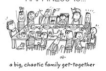 WE ARE FAMILY! / Una serie di immagini che evocano una della cose a noi più care: la famiglia! <3