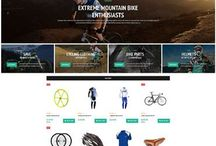 Bike Shop Website Design / These are examples of what a great bicycle shop website can look like. Build your own with the AllyOne online WordPress website builder at AllyOne.net