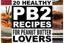 PB 2 recipes