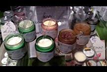 Joulumarkkinat 2014 Kultuurikeskus Korjaamolla: Aubrey & Kivvi / Aubrey ja uudet Kivvin luonnonkosmetiikkatuotteet vartalomarmeladit, huulimarmeladit ja miesten luonnonkosmetiikka herättivät kiinnostusta Kaapelitehtaalla