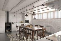 Txoko en Berango / #reforma #arquitectura #diseño #interiorismo #3D #infografias #previsualización3D  #Gumuzio&PRADA