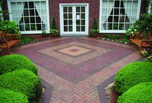 Red Brick / Red brick used in a variety of projects from commercially paved hardscapes to patios and houses.