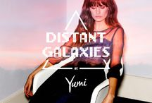 Yumi: Distant Galaxies / Inspired by cosmic fantasy and fairytale. Influenced by the beauty of our solar system. / by Yumi