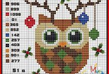 Cross Stitch- Çarpı İşi- Kanaviçe- Etamin- Crochet