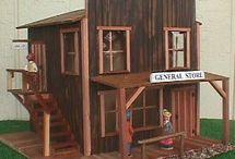 Dollhouse Miniatures-Western