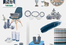 Vicko Shades of Blue Home Decor / Shop Shades of Blue Decor for your Home BY VICKO