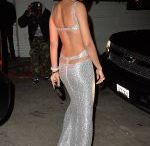 CHANEL IMAN ay WMA Golden Globes Party at Chateau Marmont in Los Angeles