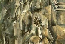 Picasso y Braque (Cubismo analítico)