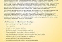 E-Commerce / E-store Apps
