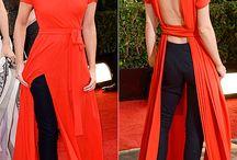 czerwona sukienka dodatki