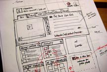 Sketching UI / First stages for creating UI. For inspiration.