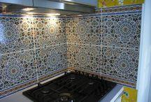 Marokkaanse tegels zellige  marokkaanse wasbak / Marokkaanse tegels . spaans tegels , zellige . marokkaanse waskom