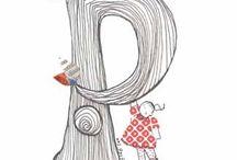"""P"" / by Pamela Kilmon"