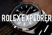 Rolex Explorer & Explorer II / A curated collection of photography inspired by the Rolex Explorer watch.