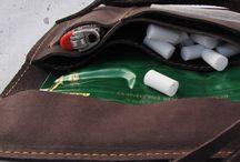 Bolsas cuero tabaco
